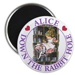 Alice Down the Rabbit Hole Magnet