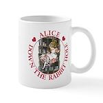 Alice Down the Rabbit Hole Mug