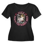 Alice Down the Rabbit Hole Women's Plus Size Scoop