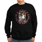 Alice Down the Rabbit Hole Sweatshirt (dark)