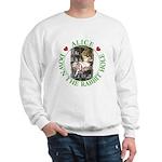 Alice Down the Rabbit Hole Sweatshirt