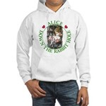 Alice Down the Rabbit Hole Hooded Sweatshirt