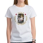Alice Down the Rabbit Hole Women's T-Shirt