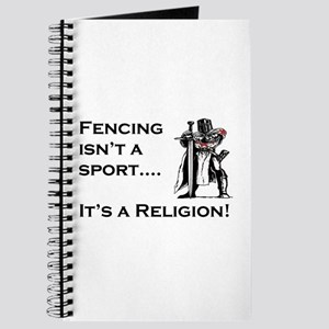 It's A Religion! Journal