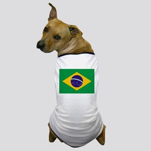 Flag of Brazil Dog T-Shirt