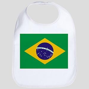 Flag of Brazil Bib