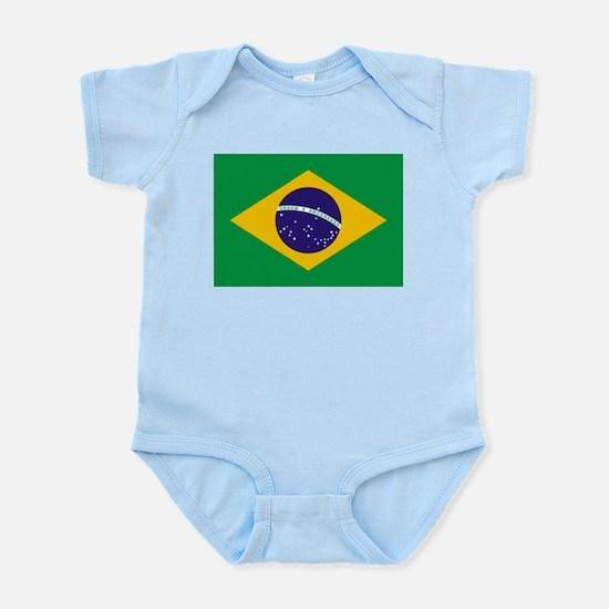 Flag of Brazil Infant Creeper