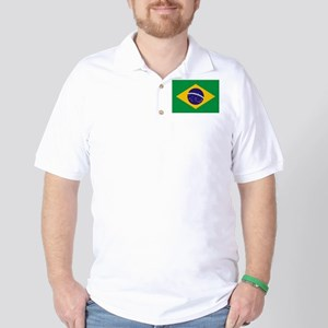 Flag of Brazil Golf Shirt