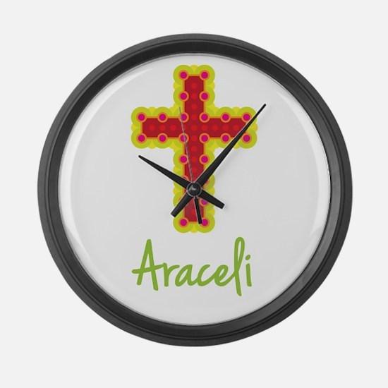 Araceli Bubble Cross Large Wall Clock