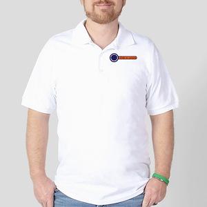slide to unlock Golf Shirt