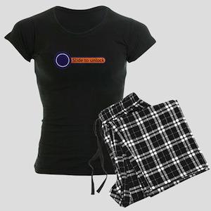 slide to unlock Women's Dark Pajamas