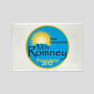 Romney New Hampshire Rectangle Magnet