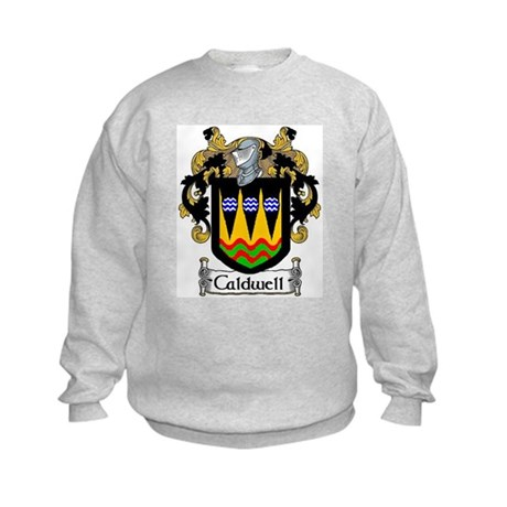 Caldwell Coat of Arms Kids Sweatshirt