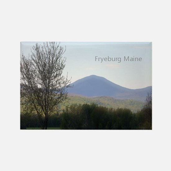 Fryeburg Maine Rectangle Magnet