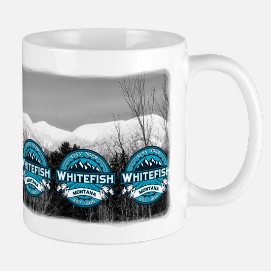 Whitefish Logo Ice Mug