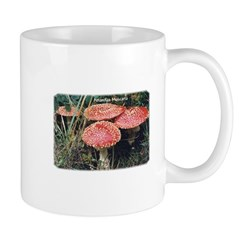 Amanita Muscaria Mushroom Group Mug