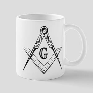 Master Mason (black/white) Mug