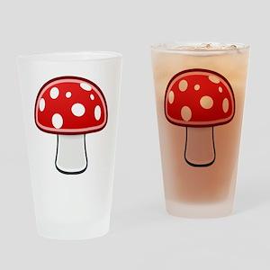 Mushroom Drinking Glass