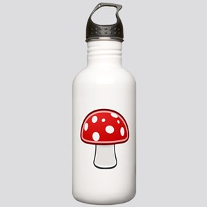 Mushroom Stainless Water Bottle 1.0L