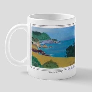 Big Sur Evening Left Handed Mug