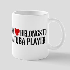 My Heart Tuba Player Mug