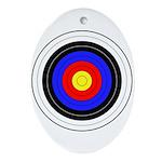Archery Ornament (Oval)