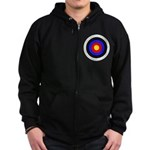 Archery Zip Hoodie (dark)