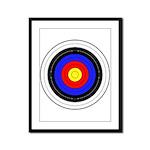 Archery Framed Panel Print