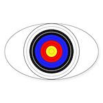 Archery Sticker (Oval 10 pk)