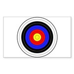Archery Sticker (Rectangle 10 pk)