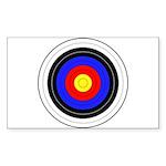 Archery Sticker (Rectangle 50 pk)