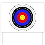 Archery Yard Sign