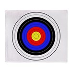 Archery Throw Blanket