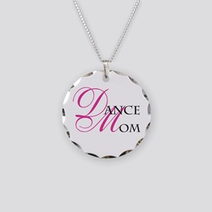 Dance Mom Necklace Circle Charm
