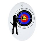 Archery2 Ornament (Oval)