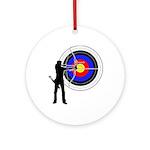 Archery2 Ornament (Round)