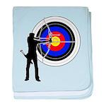 Archery2 baby blanket