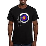 Archery2 Men's Fitted T-Shirt (dark)