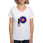 Archery2 Women's V-Neck T-Shirt