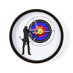 Archery2 Wall Clock
