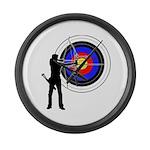 Archery2 Large Wall Clock