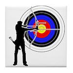 Archery2 Tile Coaster
