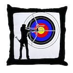 Archery2 Throw Pillow