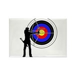 Archery2 Rectangle Magnet (100 pack)