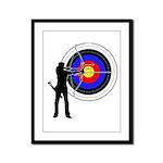 Archery2 Framed Panel Print