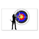 Archery2 Sticker (Rectangle 10 pk)