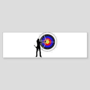 Archery2 Sticker (Bumper)