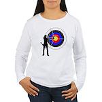 Archery2 Women's Long Sleeve T-Shirt