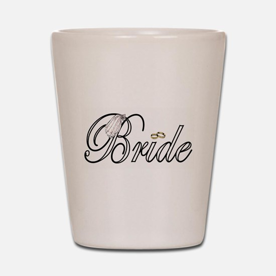 """Bride"" Shot Glass"