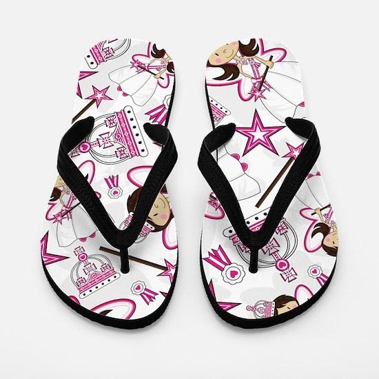 Cute Fairy Princess Flip Flops